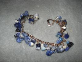 Sodalite Bracelet by Mommy-of-Monsters