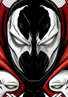 SPAWN Portrait Shot Commission by Thuddleston