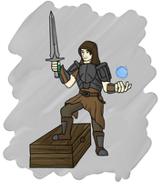 Abacc of Chorrol (Skyrim Character) by ABACC15