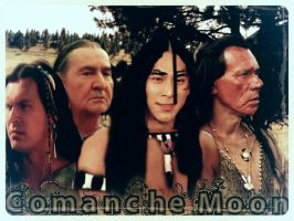 Comanche Moon with family by ApocaWarCry