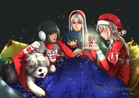 GOD JUL P.R.V by akato3