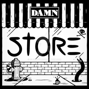 Damn Store Artwork by glampop