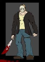 Friday the 13th Jason Voorhees by Jwpepr