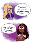 Connie and Pacifica by Mechandra