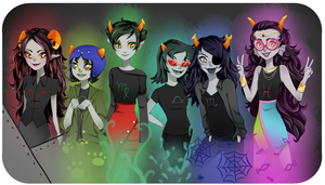 Troll Girls by xXischaXx