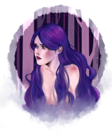 purplemermaid by Marina-Shads