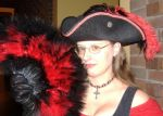 Pirate Hat and Choker by MistressKristin