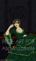 PrizeArt: Ruzsa the Black Rose by elfgrove
