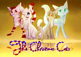 The Christmas Cats (Speedpaint) by krazykat3