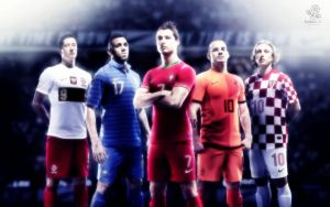 Euro2012 Stars Wallpaper by skywalkerdesign