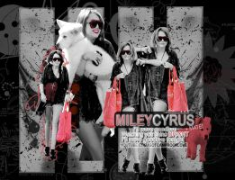 Miley Cyrus Wallpaper by Degratest