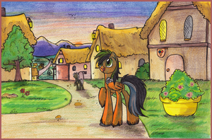 Commission - Waranto 1 by OfficerPony