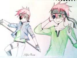 Just a Sketch of Lavi by alpha-Ikaros