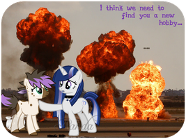 Collab: No more explosions... by iPandacakes