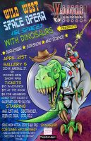 Wild West Space Opera (In Space) With Dinosaurs by SackofWetRabbits