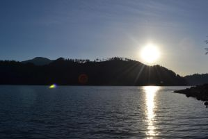 Sun Over the Water 3 by Singing-Wolf-12
