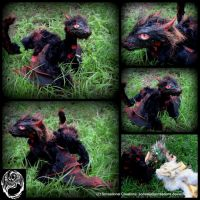 Drogon - Game of Thrones Poseable Dragon by SonsationalCreations