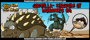 AT4W: Godzilla- Kingdom of Monsters #2 by MTC-Studio