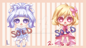 Cutie Adopts: Mini Set: SOLD OUT by RaineSeryn