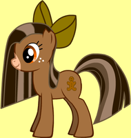 MLP:FiM OC: Ginger Snaps by chaoticlatina