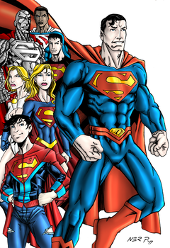 The Super Family by nerp