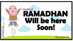Ramadhan Is Coming by littleMuslimah