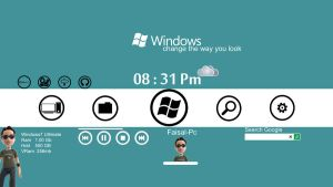windows metro new concept by Faisalharoon