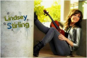 Lindsey Stirling Wallpaper by LindseyStompFanArt