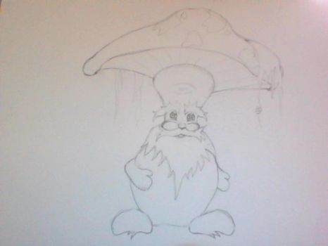 WIP Mushroom Character (unnamed) by RogueAsylum