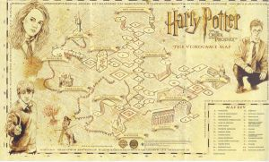 Hogwarts Map by Shikatema4ever