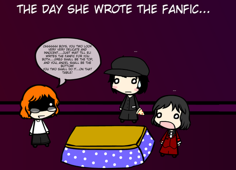 The Day She Wrote The Fanfic... by weasel777