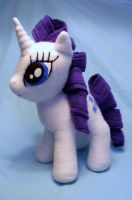 Rarity Plush by lishlitz