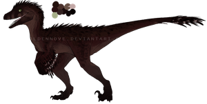 Raptor adoptable #9 -CLOSED- by GoldenNove