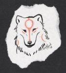 Amaterasu Head Drawing by DrMario64