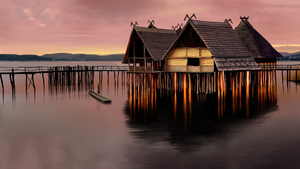 Landscape Matte Painting by Gwendolynn13