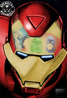 Avengers Assembled - coloured by LisaSky-Art