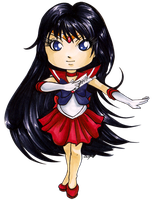 Chibi Sailor Mars by Ranefea