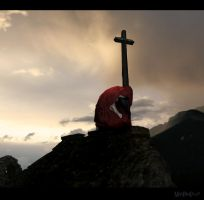 Keeper of the Cross by ArtbyMikeDaleDesigns