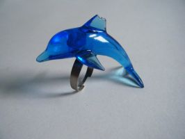 Dolphin Ring by letmeusemyname