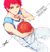 KnB - Akashi by Sleii-no-baka