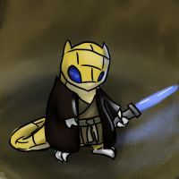 Jedi Sandshrew by TheWickedKid