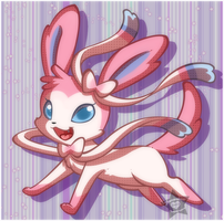 Ninfia - Sylveon by CaramelKitt