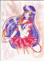 re-edit cover sailor mars vol 3 by Aino-Fred