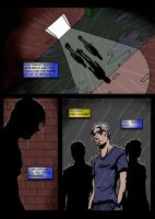 Simulacrum, Page Four by JeffShoemake