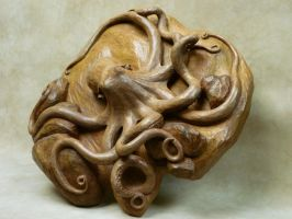 Octopus, Iroko by AllenNecchi