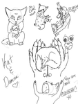 YOU ARE MY PLUSHIE :.Love Doodle Spam.: by Toastpocalypse