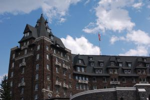 Stock 478 - Banff Springs by pink-stock