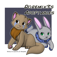 Neopets - Adoptables 2 by mewgal