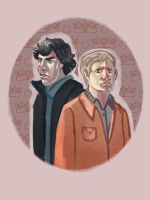 sherlock and john by audreymolinatti