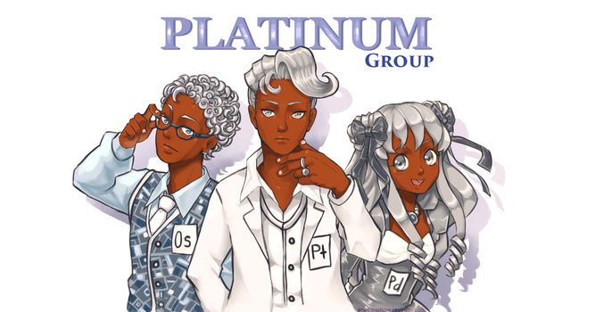 PTC: Platinum Group by twilightflwr